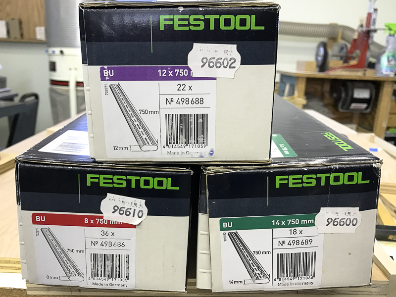 no tear out from Festool track saw
